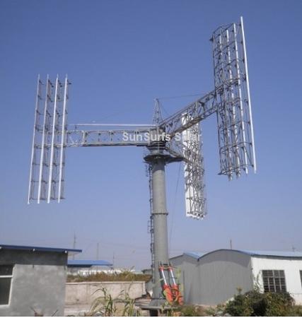 SunSurfs WT3 Vertical Axis Wind Turbine 100,000W (100KW)