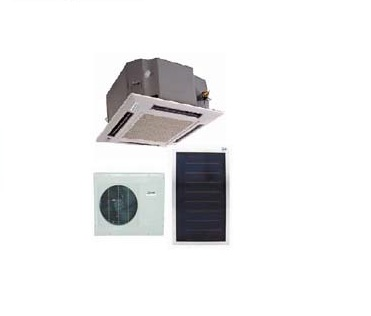 36,000 Btu Cassette Split Solar  Air Conditioner & Heating Unit