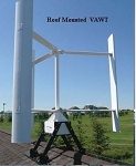 Roof Mount 3000w (3 kw) Vertical Axis Wind Turbine