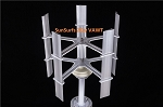 Roof Mount 2000w (2 kw) Vertical Axis Wind Turbine
